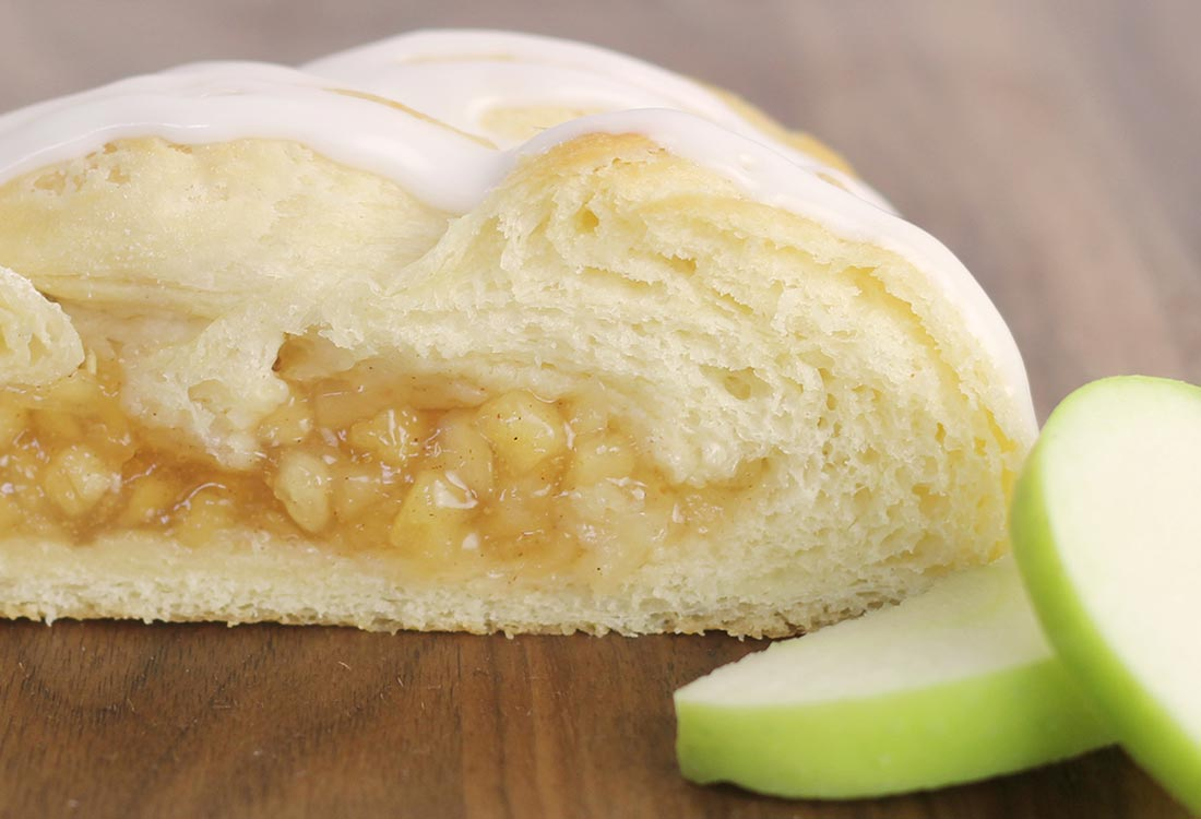 DFW Fundraising   Apple Butter Braid Pastry   Bluebonnet Fundraising